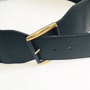 Accessories - 🎈2 FOR $20🎈 Black Waist belt. Leather